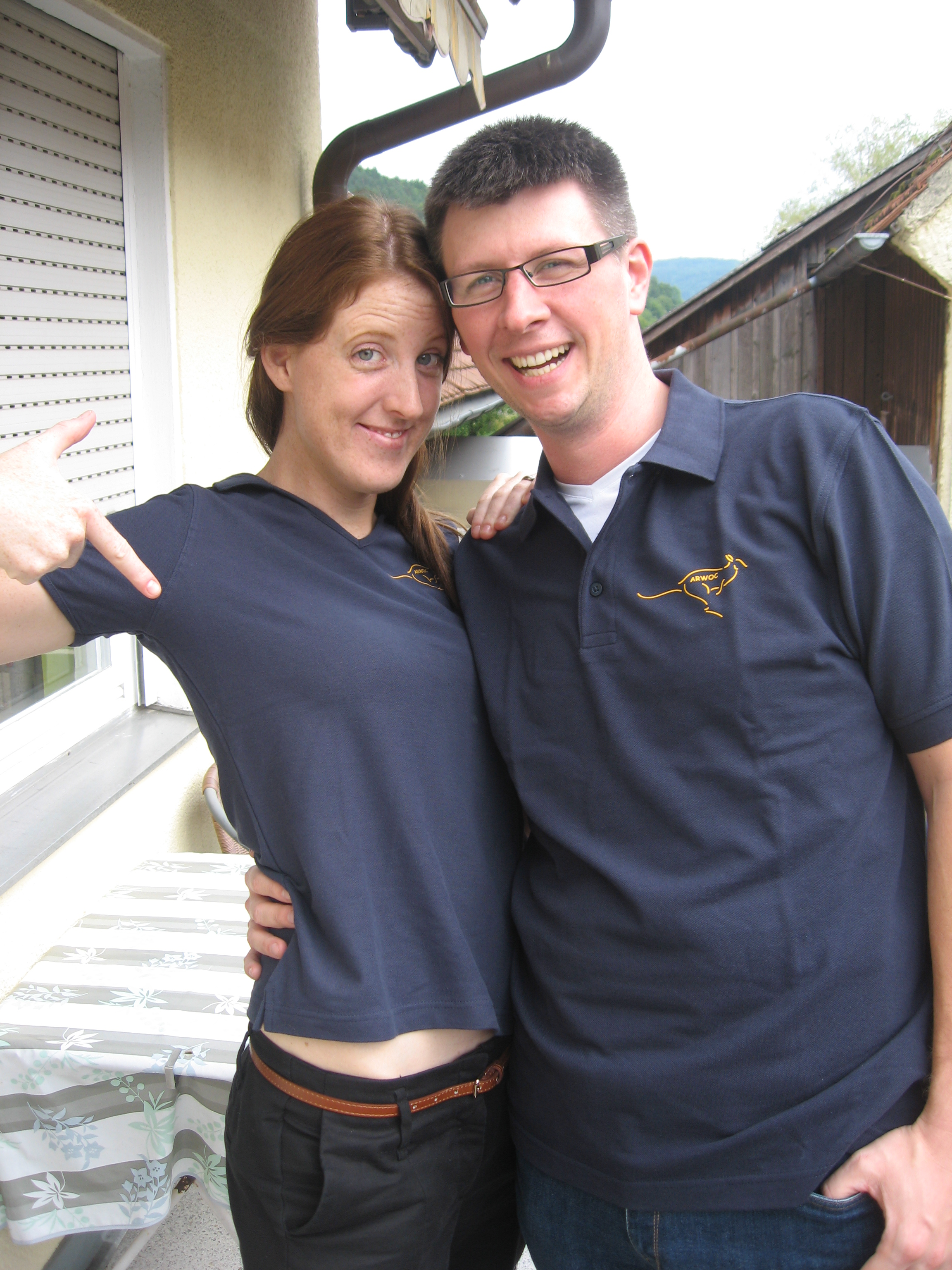 Lisa & Kristof Arwoc Member Nr. 85 + 32