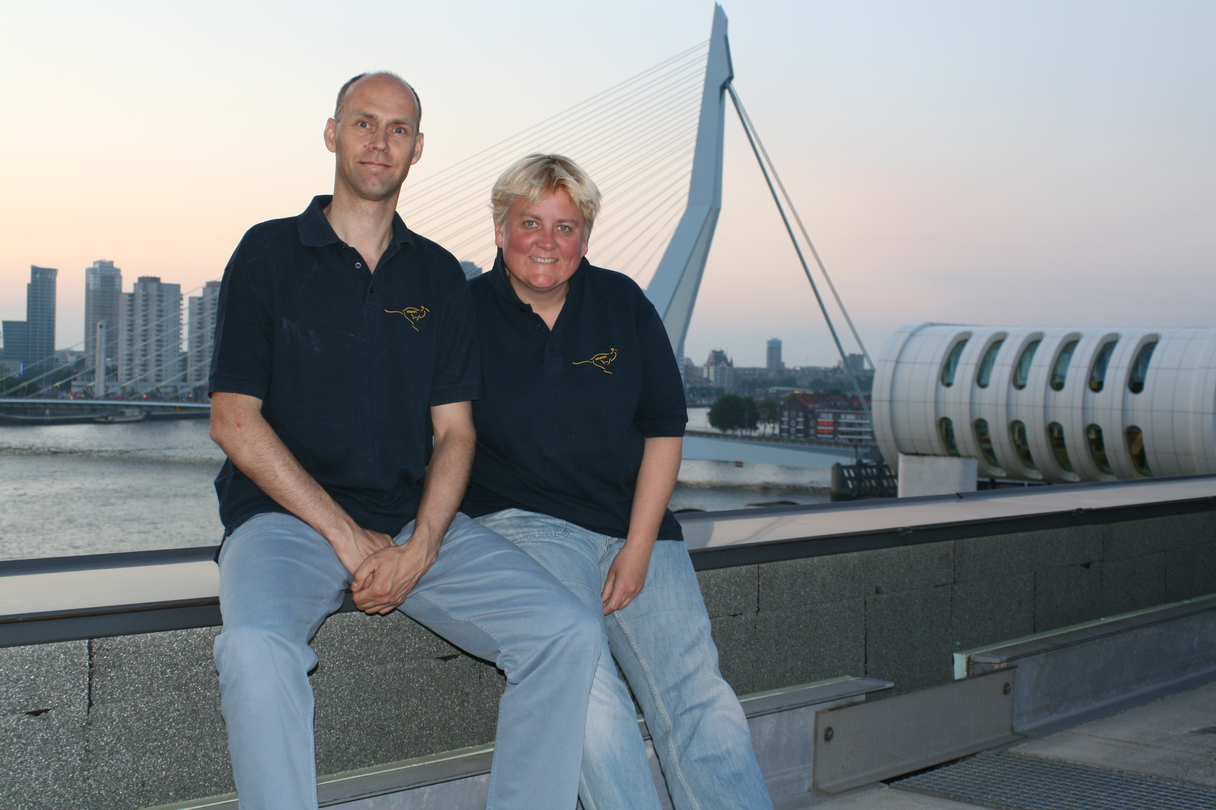 Eduard & Martine Arwoc Member Nr. 87 + 69