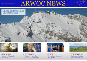 ARWOC News January 2016 - Issue No. 36 Title